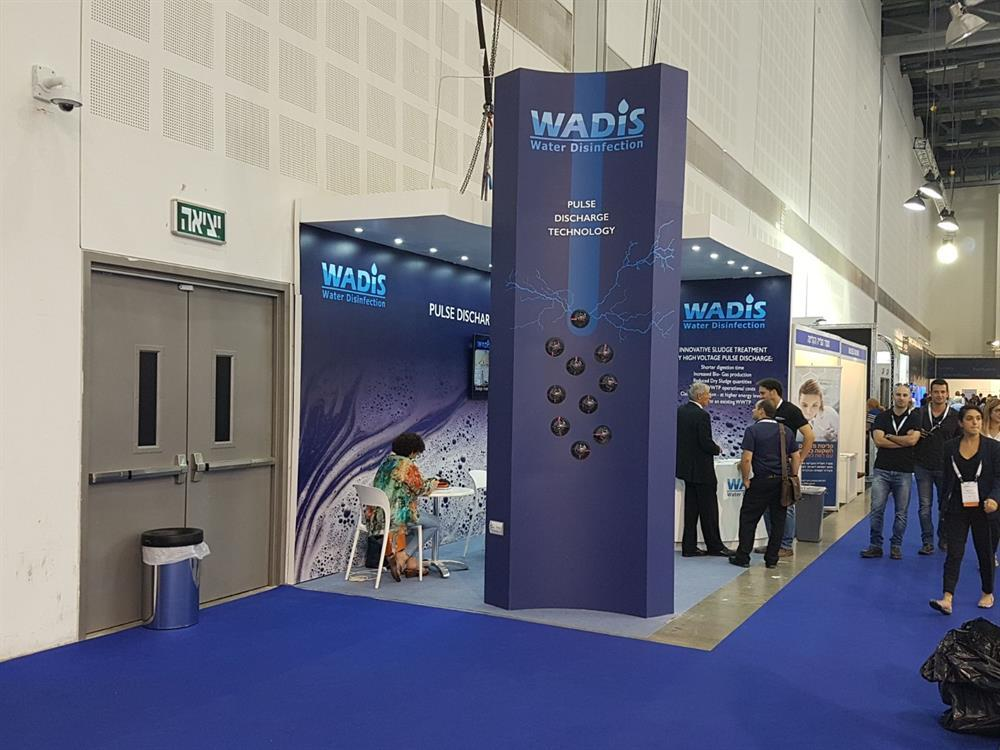exhibition booth STAND  design WADIS WATEC