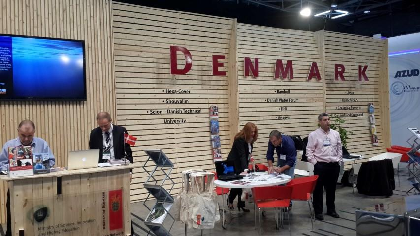 exhibition booth design INNOVATION DENMARK EMBASSY