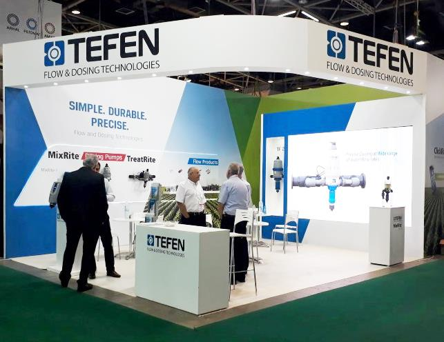 AGRITECH exhibition booth design TEFEN