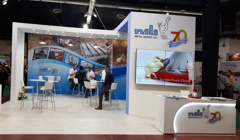 exhibition booth design NILI